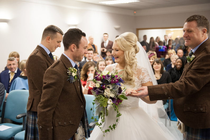 wedding photography aberdeen; donna murray photography