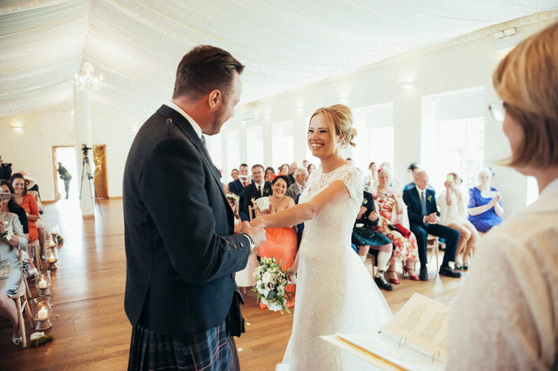 Aberdeen wedding photographers; logie country house; donna murra