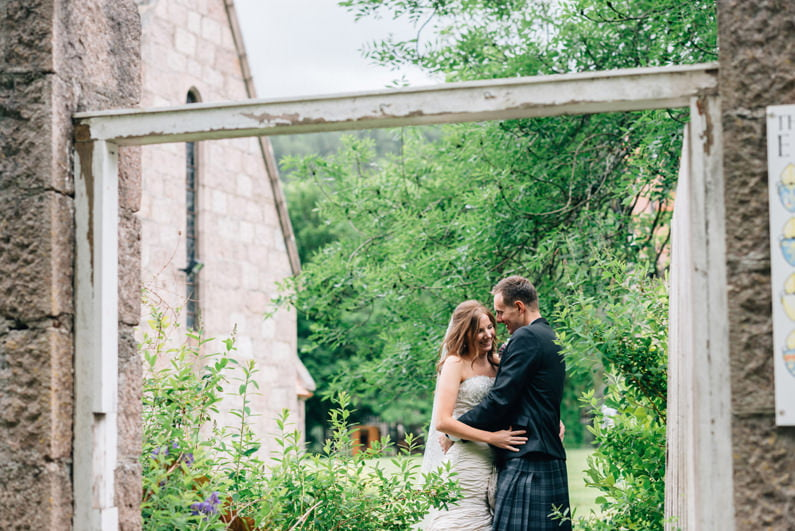Aberdeen wedding photographers;  mar lodge braemar