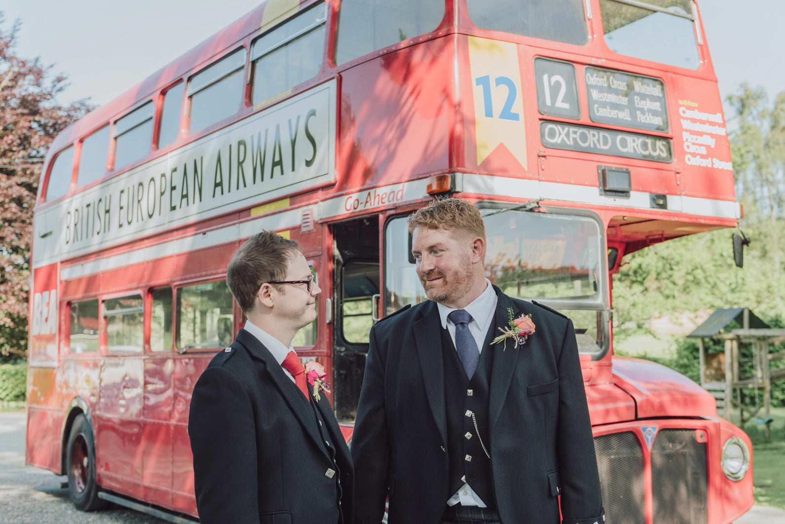 gay funfair wedding
