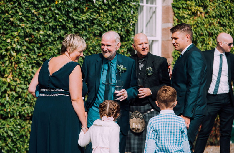 balbegno castle; balbegno castle weddings; donna murray photogra
