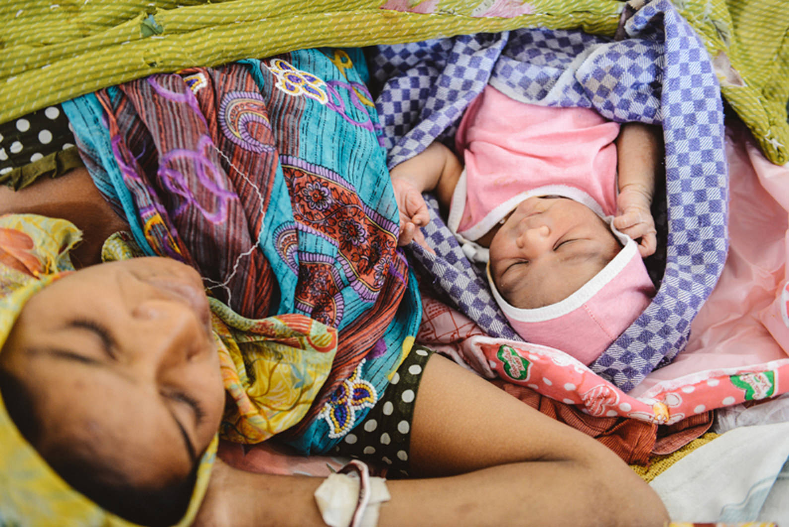 maternal health in Malawi and india